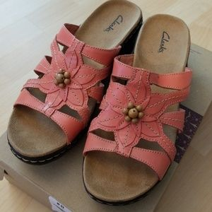 44cdc1f6b15 Clarks Shoes - Clarks Lexi Myrtle Pink coral Sandals